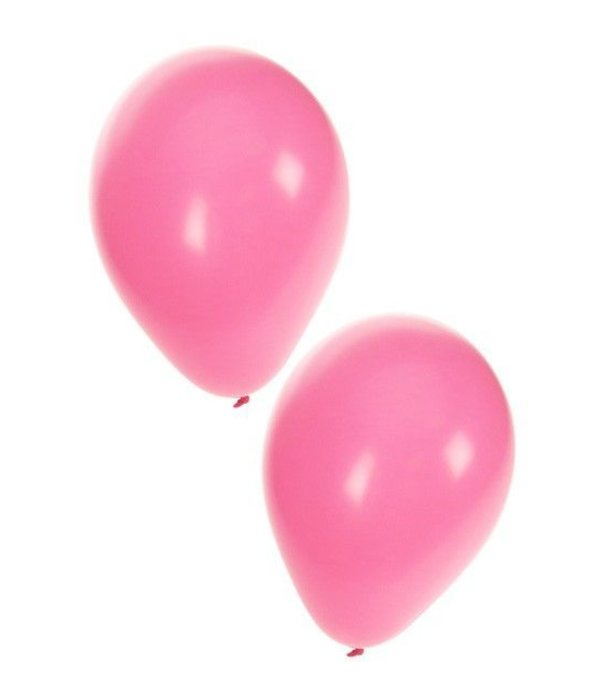 Ballonnen baby roze 100 stuks