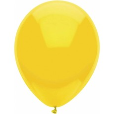 Gele ballonnen 30cm 12 stuks