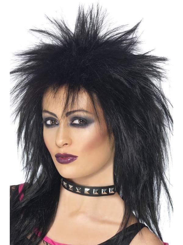80's Rock diva pruik