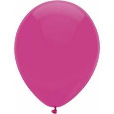 Fuchsia ballonnen 30cm 12 stuks