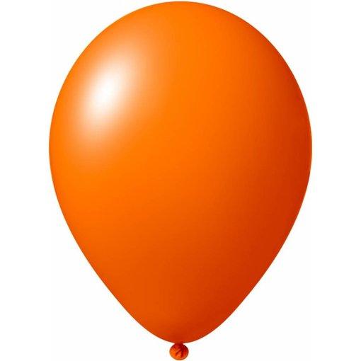 Oranje ballonnen 30cm 12 stuks