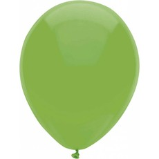 Lichtgroene  ballonnen 30cm 12 stuks