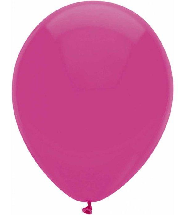 Ballonnen magenta 30cm 10 stuks