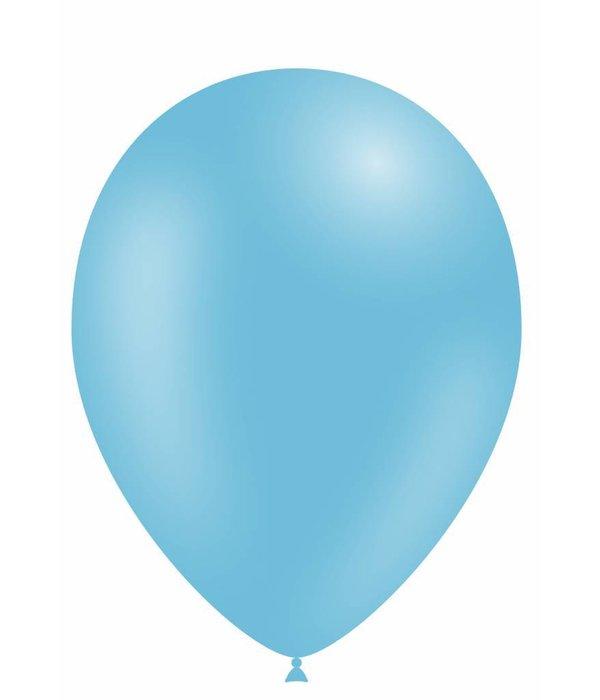 Lichtblauwe ballonnen 30cm 12 stuks
