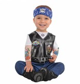 Baby Biker Kostuum