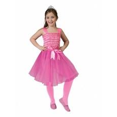 Roze Prinsessenjurk kind met strik