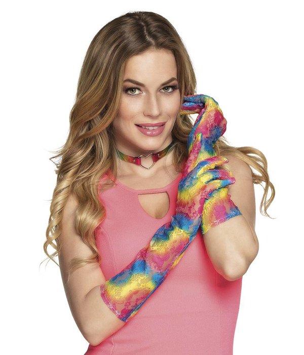 Handschoenen kant rainbow