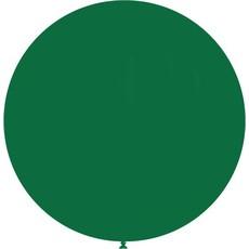 Grote Ballon donkergroen 90 cm