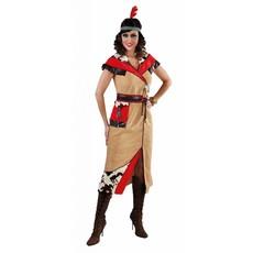 Indiaanse dame lang