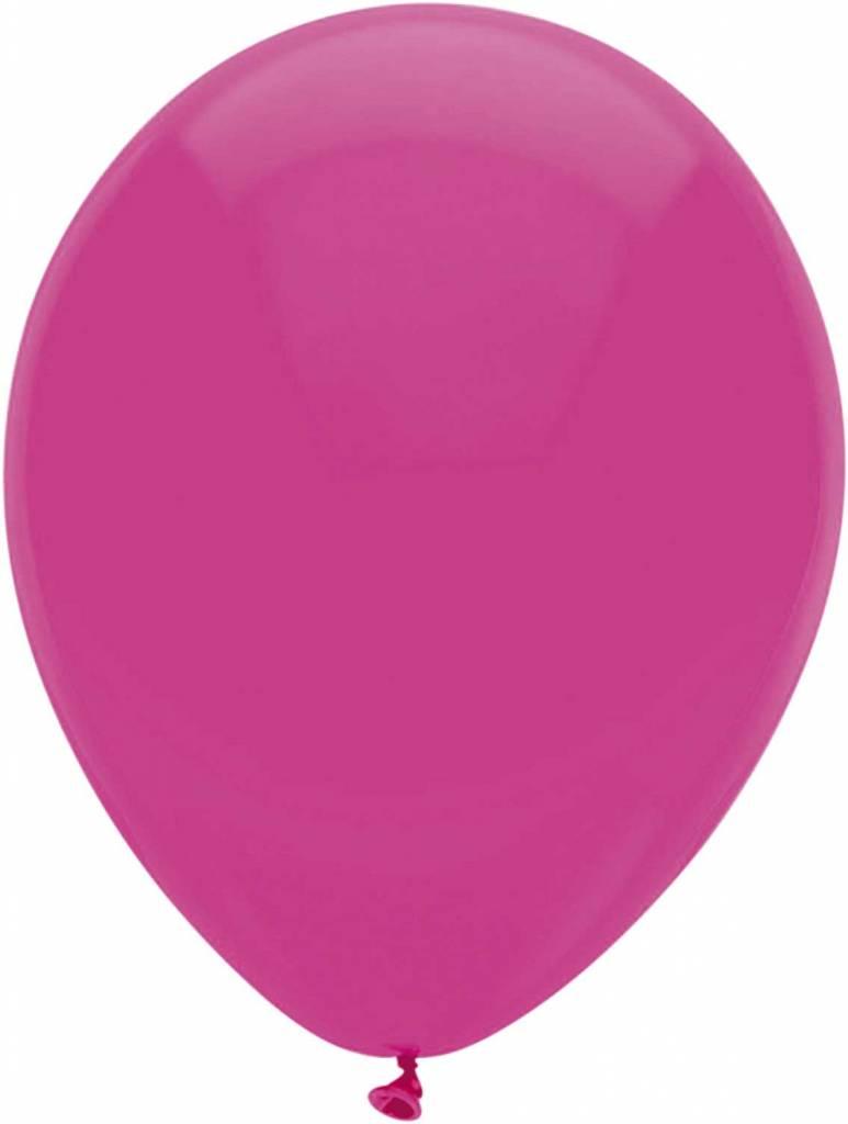 Hardroze Ballonnen 30cm 100 stuks
