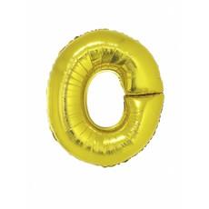 Folieballon Goud Letter 'O' groot