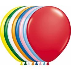 Meerkleurige ballonnen 30cm 10 stuks