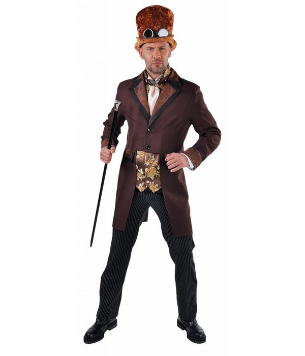Steampunk Victoriaans man