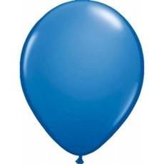 Donkerblauwe ballonnen 100 stuks 30cm