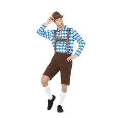 Bavarian tiroler kostuum man