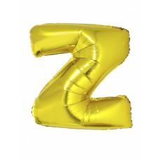 Folieballon Goud Letter 'Z' 102cm