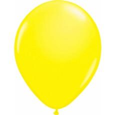 Gele neon ballonnen 25cm - 8 stuks