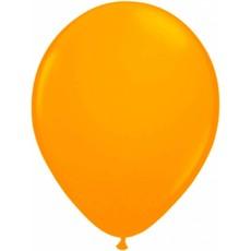 Ballonnen neon oranje 25 cm - 8 stuks