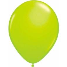 Neon groene ballonnen 25cm - 8 stuks