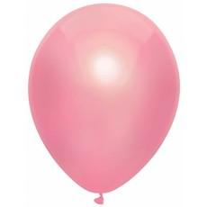 Metallic roze ballonnen 100 stuks 30cm