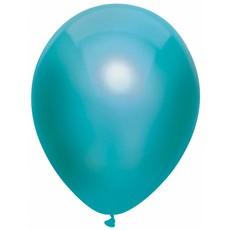 Metallic Ballonnen Teal 30cm - 10 stuks