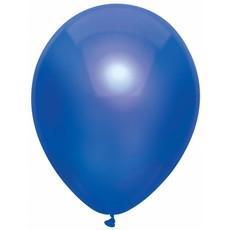 Ballonnen Metallic Navy blauw 30cm - 10 stuks