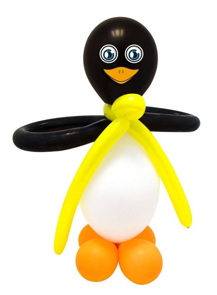 Ballonnenset Pinguin 2 Stuks