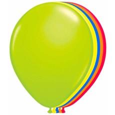 Ballonnen neon meerkleurig 25 cm - 50 stuks