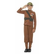 Oorlogskostuum Jongen Soldaat