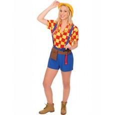 Dames Bob de bouwer kostuum