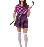 Golf verkleedkostuum vrouw