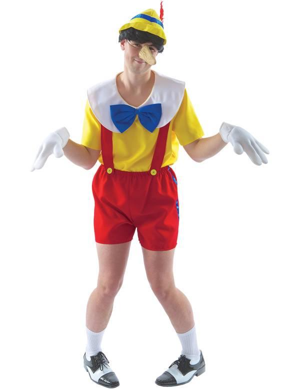 Pinokkio kostuum man