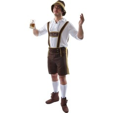 Bavarian kostuum man Oktoberfest