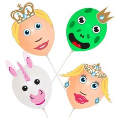 Ballonnen Knutselset Prins En Prinses