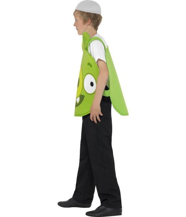 Angry birds kostuum groen kind