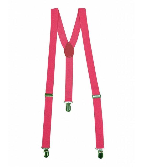 Fluor roze bretels