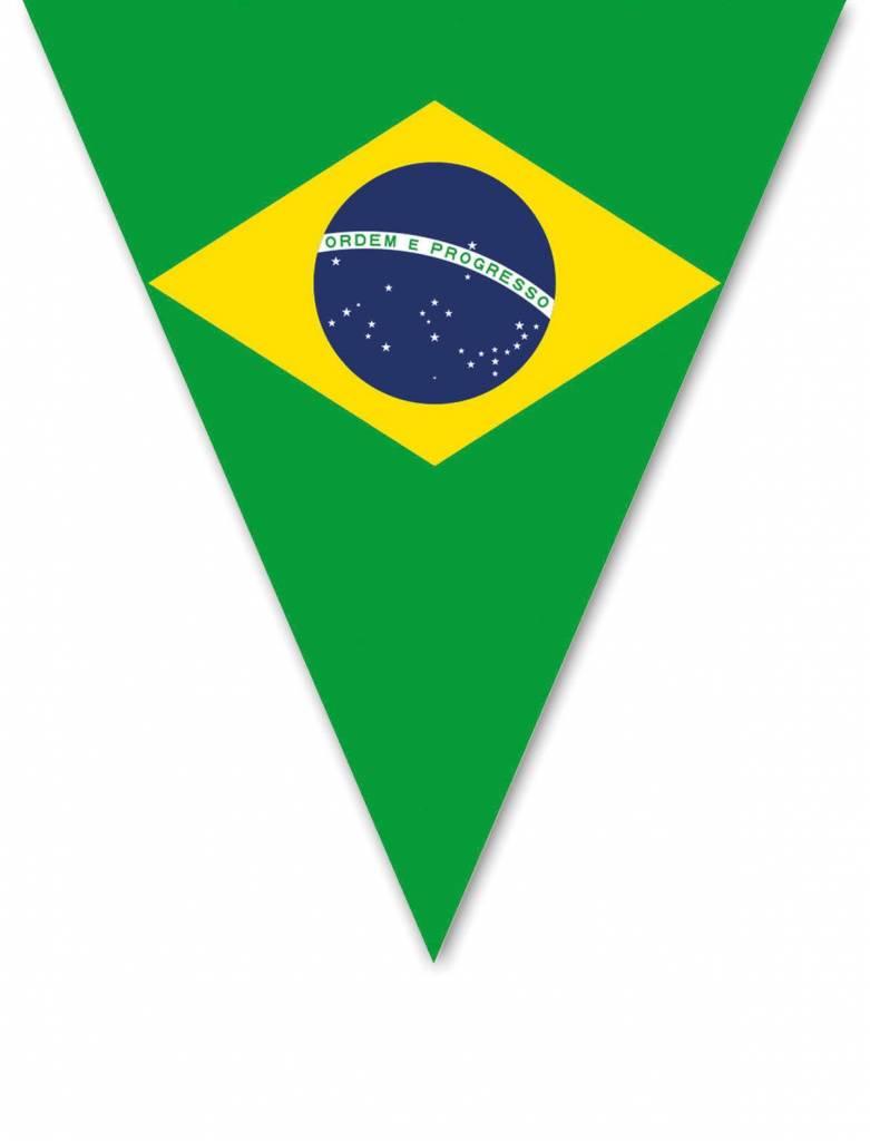 Vlaggenlijn Brazilie 5m