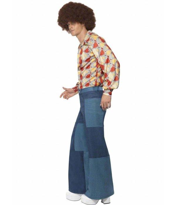 70's Denim look broek