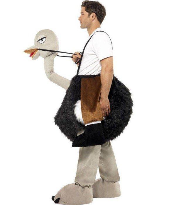 Instap Struisvogel kostuum