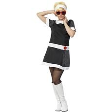 60's kostuum vrouw