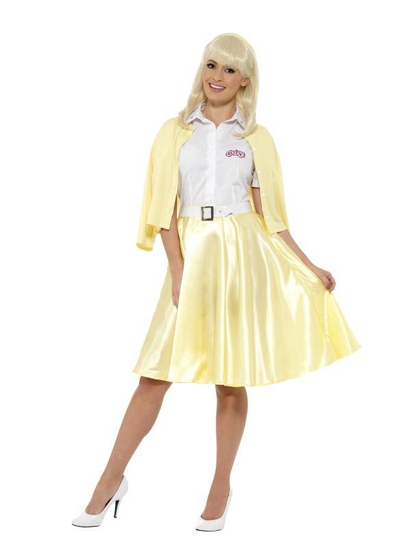 Grease Kostuum Sandy Geel
