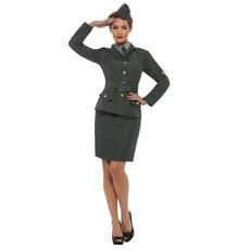 Leger Kostuum Vrouw Tweede Wereldoorlog