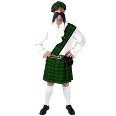 Schotse verkleedkleren man groen