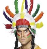 Indianen hoofdtooi