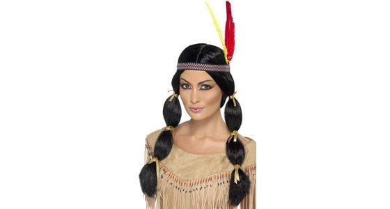 Carnavalskleding Dames Indiaan.Indianenkleding Voor Man Vrouw En Kind Feestbazaar Nl