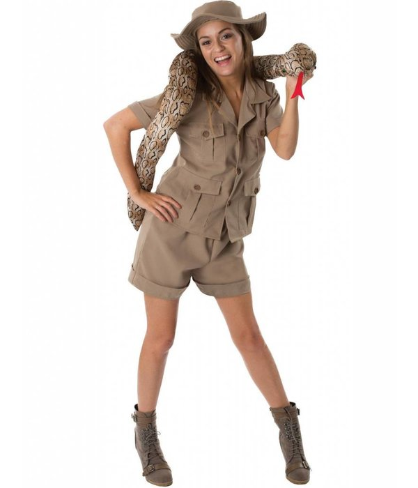 Safari outfit vrouw