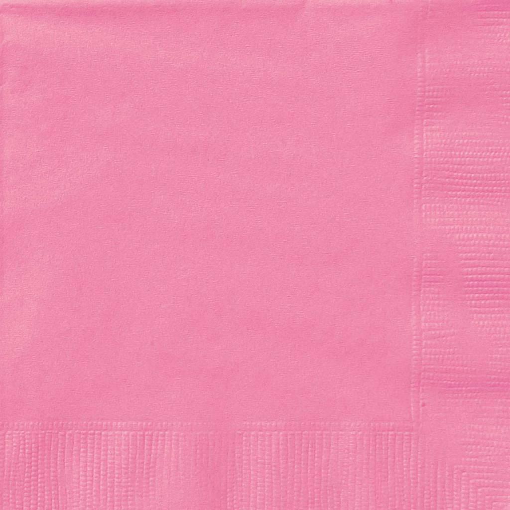 20 Hot Pink Lunch Servetten