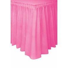 Tafelrok Hot Pink 73x426cm