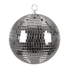 Zilveren discobal 20 cm