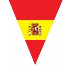 Vlaggenlijn Spanje 5 meter 10 vlaggen